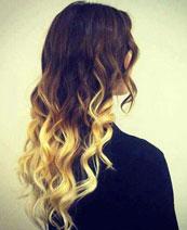 Окрашивание волос OMBRE